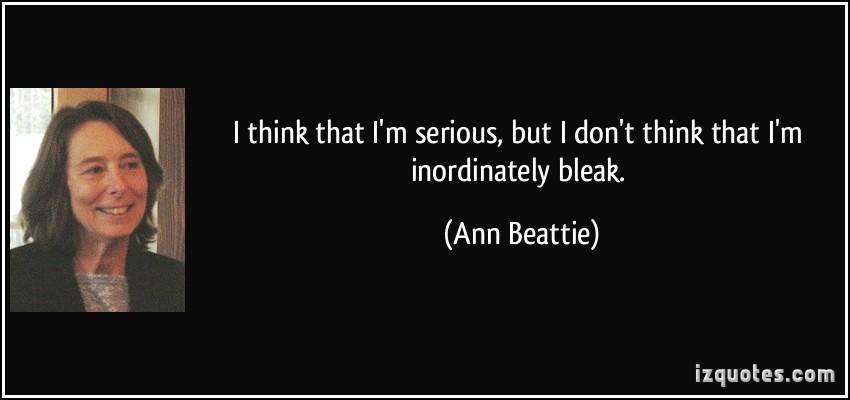 Ann Beattie's quote #7