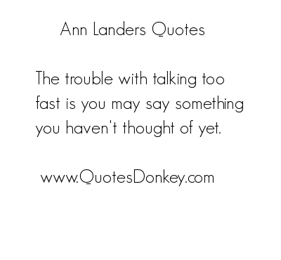 Ann Landers's quote #5