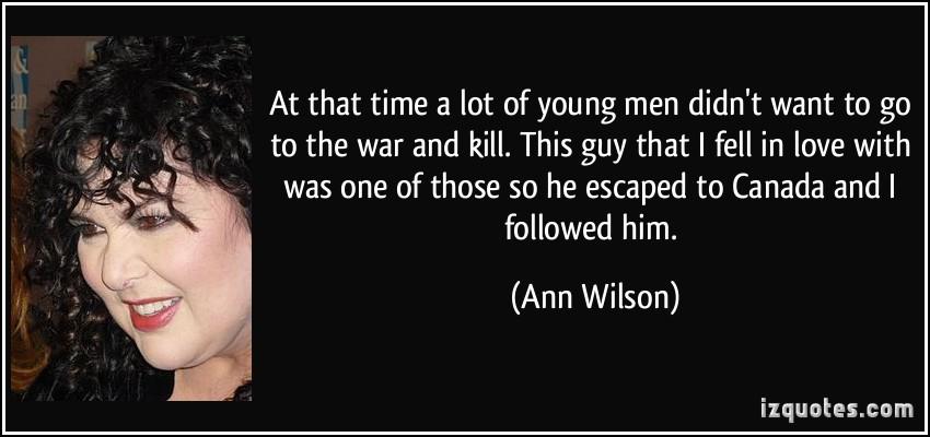 Ann Wilson's quote #1