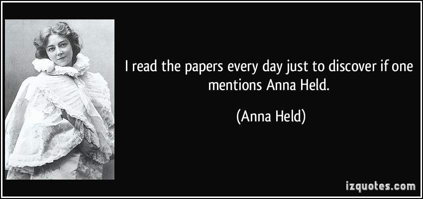 Anna Held's quote #1