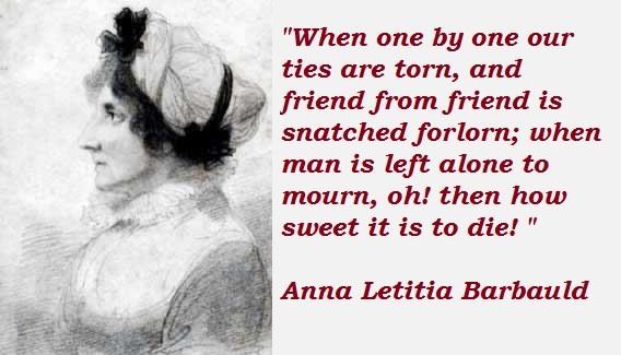 Anna Letitia Barbauld's quote #2
