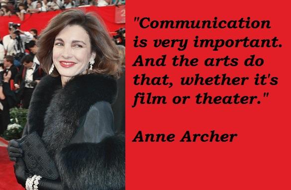 Anne Archer's quote #5