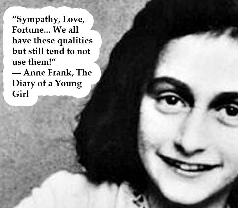 Anne Frank's quote #3