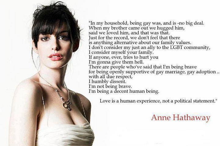 Anne Hathaway's quote #2