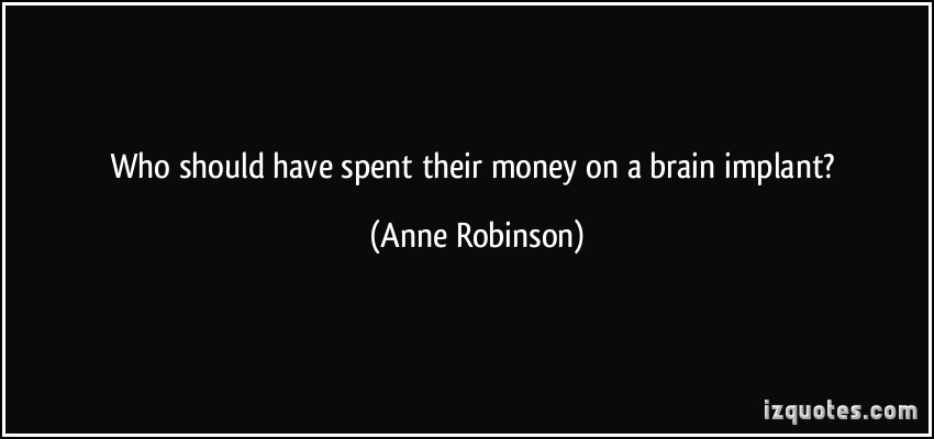 Anne Robinson's quote #1