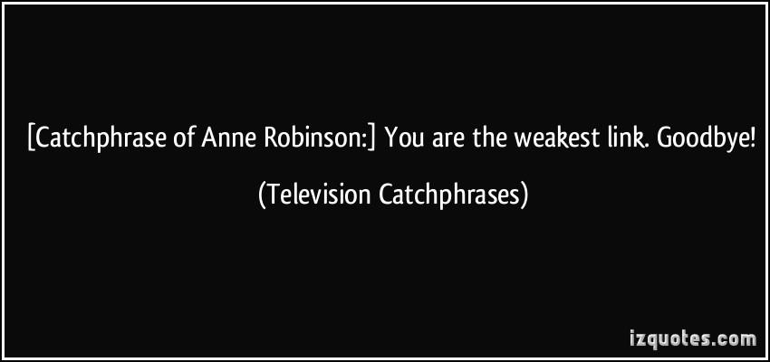 Anne Robinson's quote #2