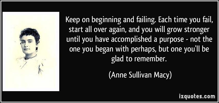 Anne Sullivan Macy's quote #2