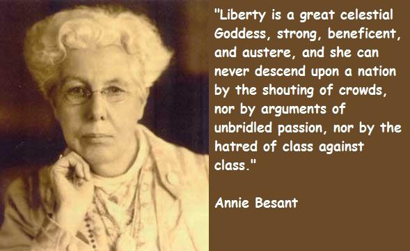 Annie Besant's quote #5