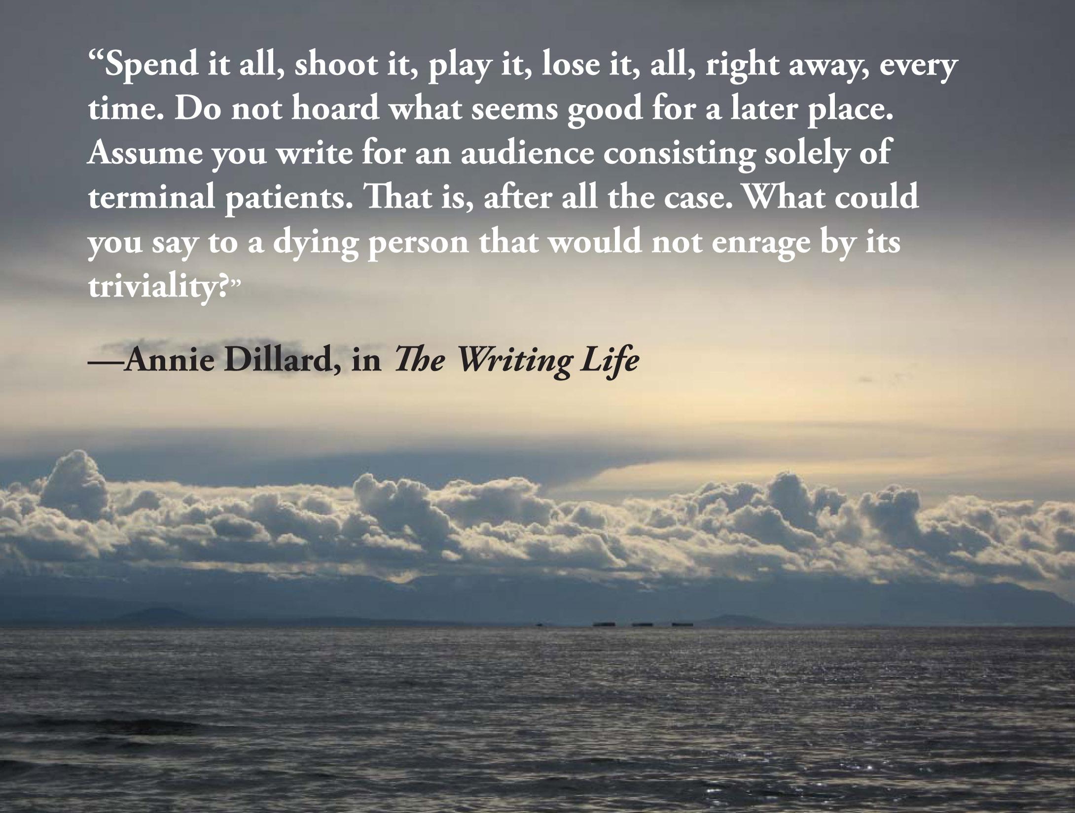 Annie Dillard's quote #6
