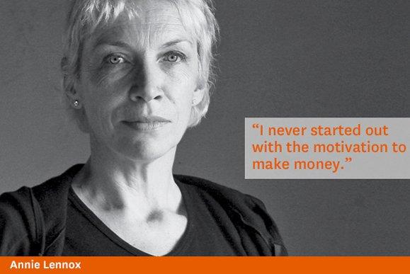 Annie Lennox's quote #5