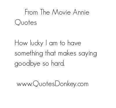 Annie quote #2