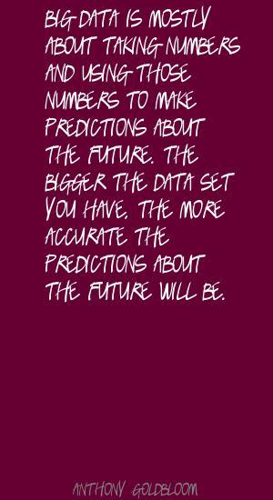 Anthony Goldbloom's quote #2