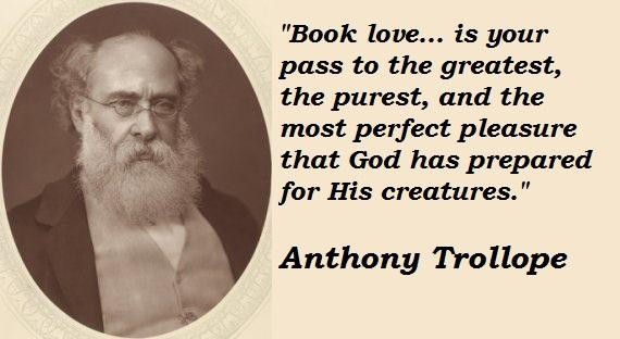 Anthony Trollope's quote #3
