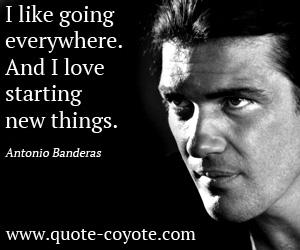 Antonio Banderas's quote #2