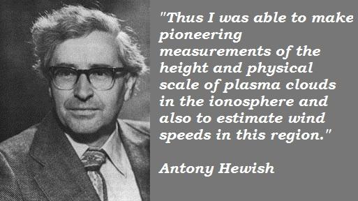 Antony Hewish's quote #2