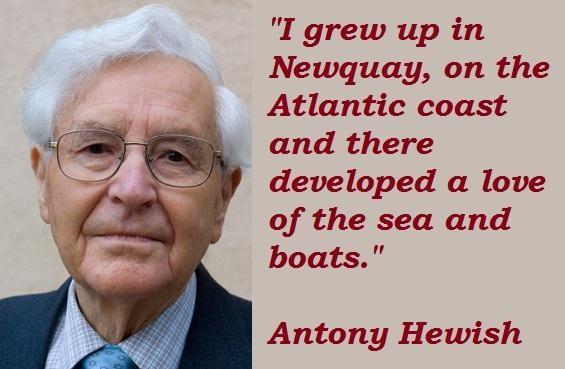 Antony Hewish's quote #1