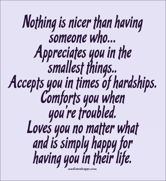 Appreciates quote #1