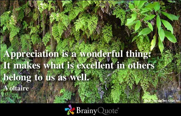 Appreciating quote #2