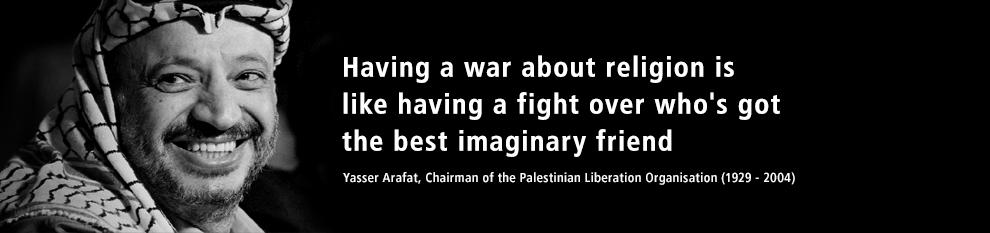 Arafat quote #1