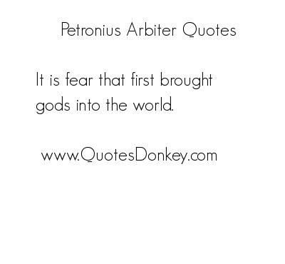 Arbiter quote #1