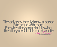 Argue quote #2