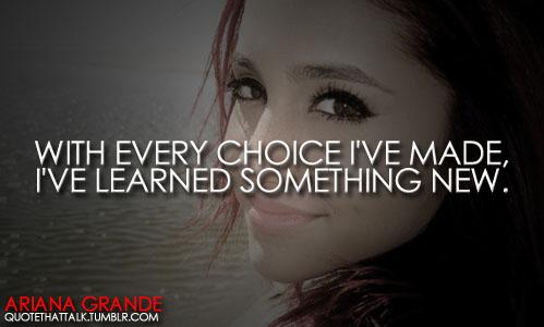 Ariana Grande's quote #8