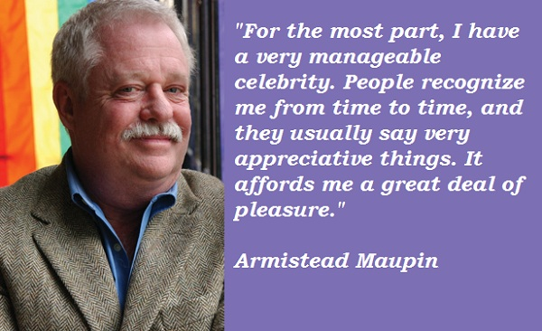 Armistead Maupin's quote #2
