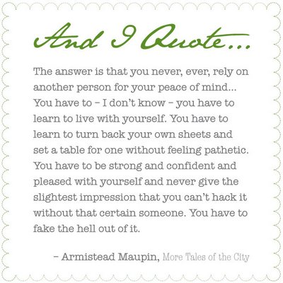 Armistead Maupin's quote #4