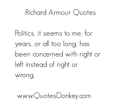 Armour quote #1