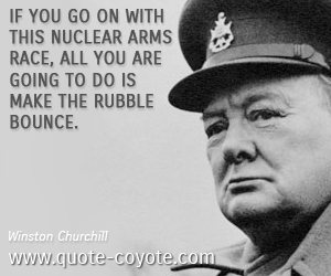 Arms Race quote #2