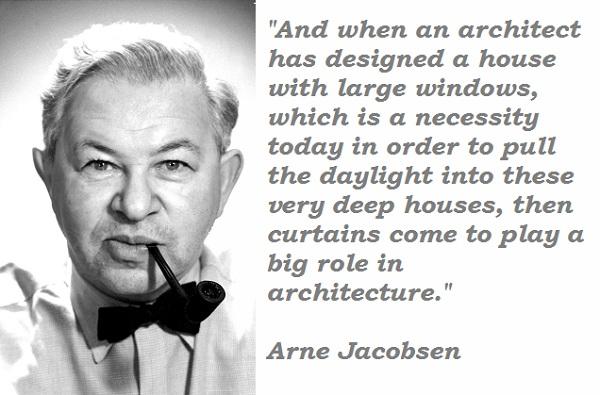 Arne Jacobsen's quote #2