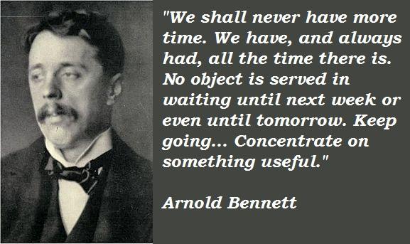 Arnold Bennett's quote #3