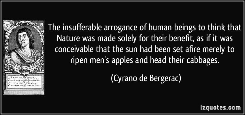Arrogance quote #2