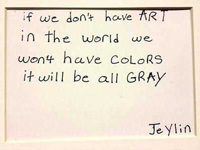 Art Student quote #1