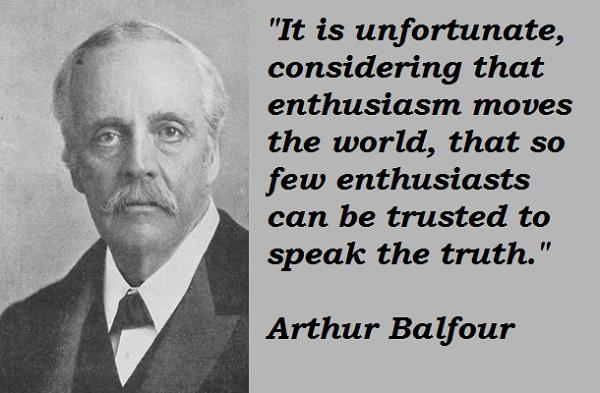Arthur Balfour's quote #3