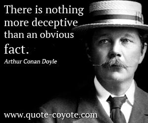 Arthur Conan Doyle's quote #2