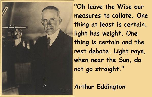 Arthur Eddington's quote #4