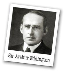 Arthur Eddington's quote #1