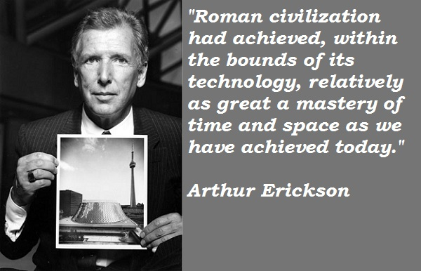 Arthur Erickson's quote #3