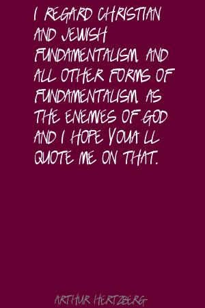 Arthur Hertzberg's quote #6