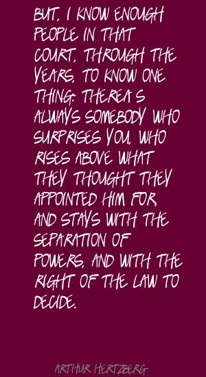 Arthur Hertzberg's quote #2