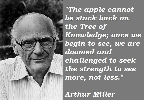Arthur Miller's quote #4