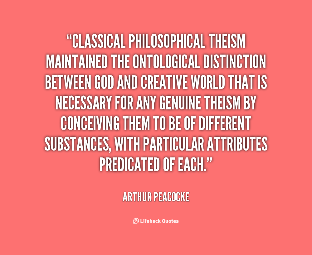 Arthur Peacocke's quote #3