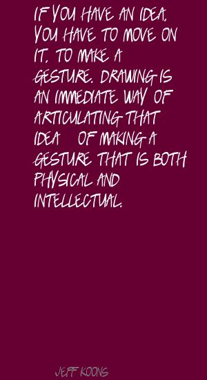 Articulating quote #1