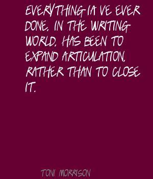 Articulation quote #2