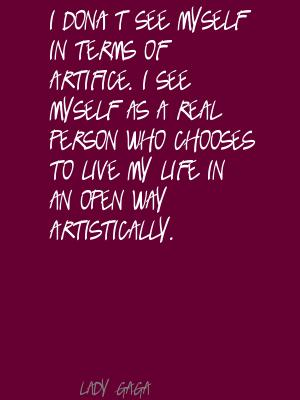 Artifice quote #1