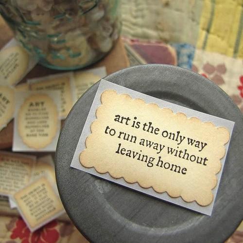 Artistic quote #2
