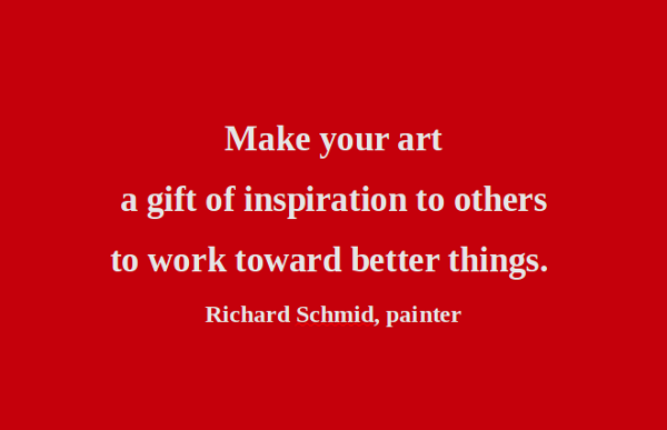 Artists quote #4