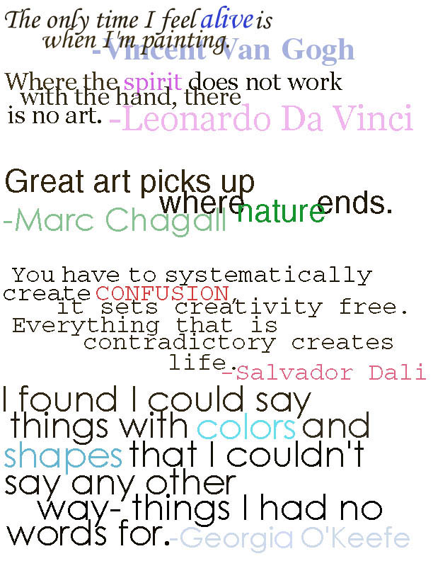 Artists quote #7