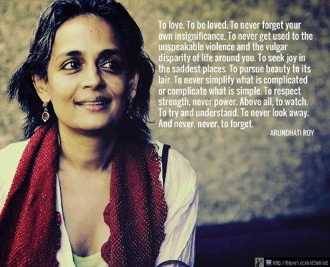 Arundhati Roy's quote #1